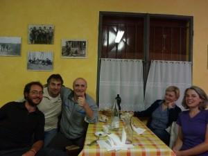 Chez Primino, avec Gorgio e Grazie