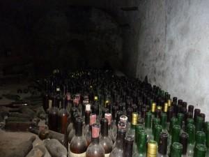 Dans les caves de notre demeure d'un soir!