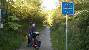 Frontière slovène, 2 fois en 2 jours. Chérie, tu penseras à tourner la carte ?