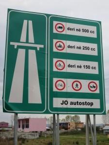Autoroute albanaise