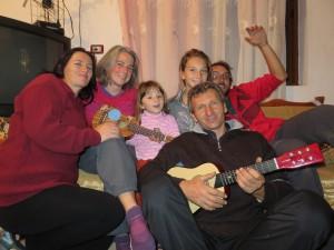 Altino et sa famille