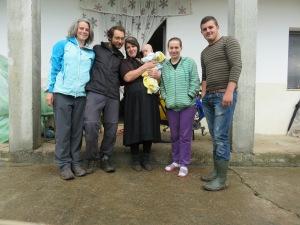 Iona et sa famille