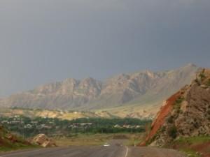 Vallée de la basse-Naryn