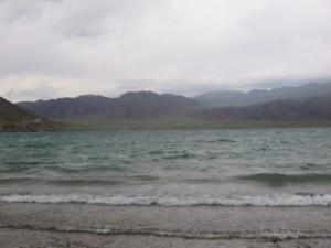 Tempête près du lac Orto-Koy
